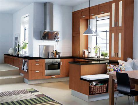 les plus belles petites cuisines les plus belles cuisines ikea cuisine adel brun fonc 233