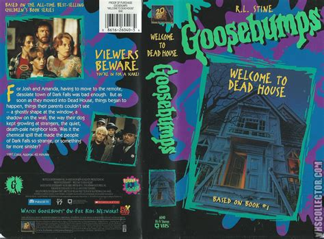 goosebumps welcome to dead house goosebumps welcome to dead house vhscollector com