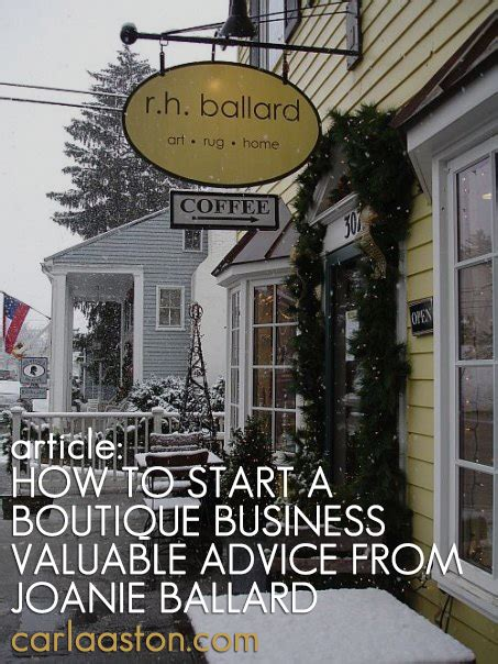 start  boutique business valuable advice