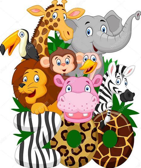 imagenes de animales de zoologico animados dibujos animados de animales de colecci 243 n del parque