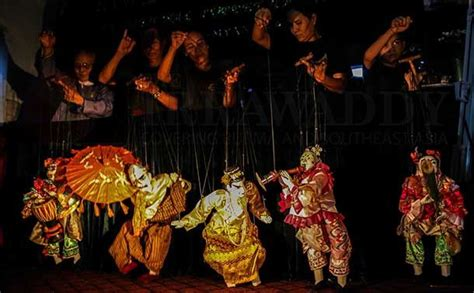 myanmar puppetry or yoke th 233 is one of the most unique and