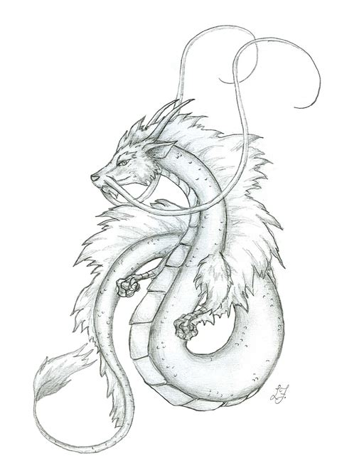 small japanese dragon by lizzy23 on deviantart
