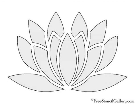 new year flower template lotus flower flower template merry