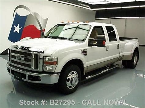 how to sell used cars 2008 ford f350 head up display sell used 2008 ford f350 lariat crew diesel dually sunroof 78k mi texas direct auto in stafford