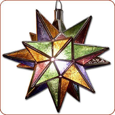 moroccan moravian star moravian star light moroccan star