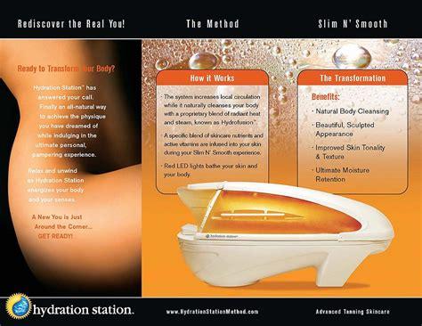 hydration bed hydration station solarium