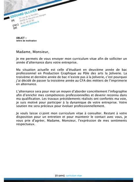 Lettre De Motivation Visa étudiant Lettre De Motivation 233 Tudiant Caissi 232 Re Application Cover Letter