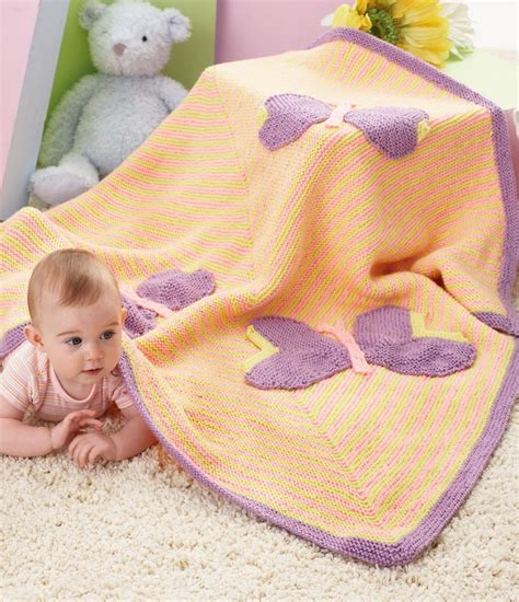 butterfly baby blanket knitting pattern butterfly knitting patterns in the loop knitting