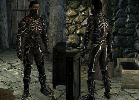 skyrim armor black sacrament armor mats bat at skyrim nexus mods and
