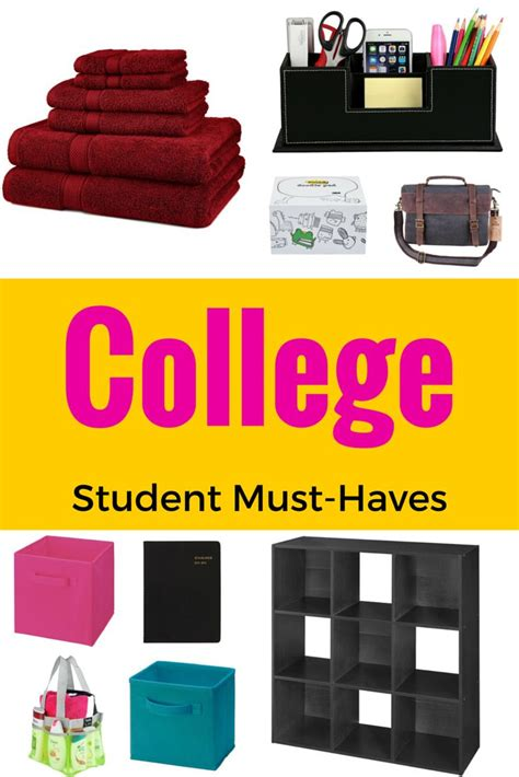 room essentials student college student checklist must haves and essentials a