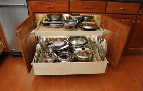 pots and pans drawer cabinet smart solutions for today s kitchens if these walls