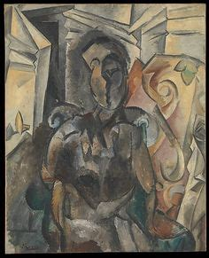 picasso woman in an armchair two men on a street 1918 otto morach 1887 1973 out