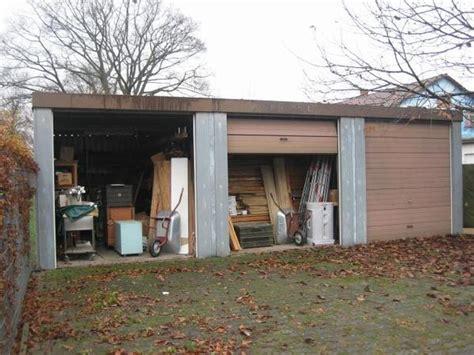garage zum mieten gebrauchte garage marke siebau zum selbstabbau 10 x 3 18 x