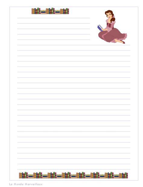 Lettre De Désinscription école Gratuite Papier A Lettre Decore A Imprimer Page 2