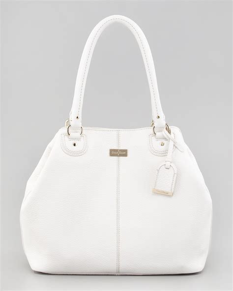Cole Haan Medium Convertible Tote by Cole Haan Convertible Tote Bag In White Lyst