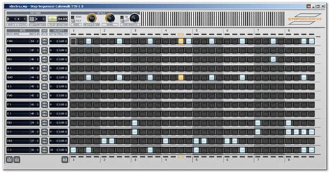 drum pattern sequencer drumbot creating a rhythm track in sonar