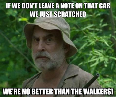 The Walking Meme - dale walking dead memes quickmeme