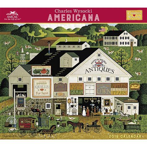 Pdf Charles Wysocki Americana Wall Calendar wysocki americana amcal 2019 wall calendar