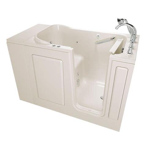 walk in whirlpool bathtub american standard gelcoat premium series 4 ft walk in