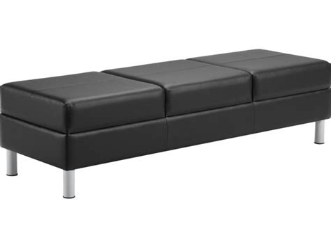 reception bench citi three seat reception bench cit 7894 beam bench seating