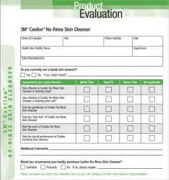 Evaluation Template product evaluation 7 free documents in pdf