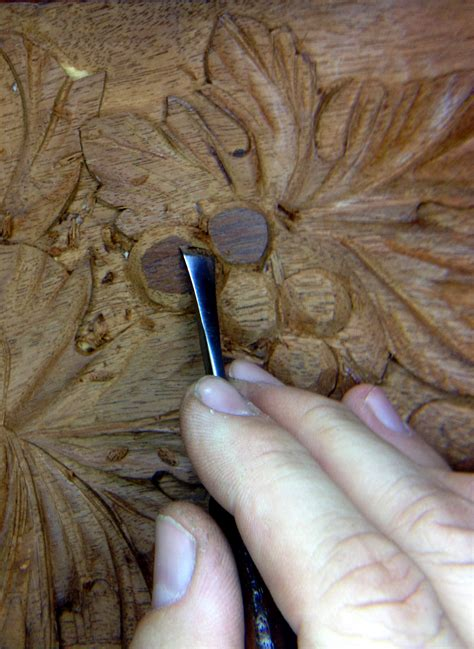 woodcarving  relief mahogany antique doors