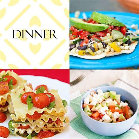 light and easy summer meals recipes dinner pinterest