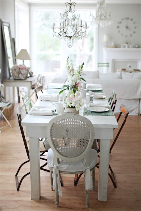 home decor blogs shabby chic shabby chic dining table decorations lovely home