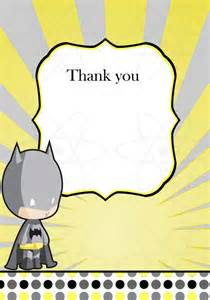items similar to instant batman baby shower thank you card on etsy