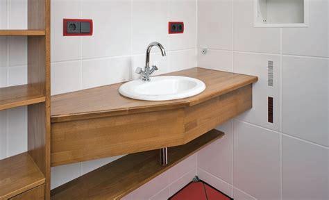 waschtisch selbst gebaut waschtisch montieren waschbecken wc selbst de