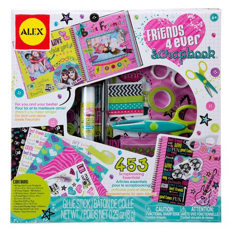 ALEX Toys Craft Friends 4 Ever Scrapbook Kit   AlexBrands.com