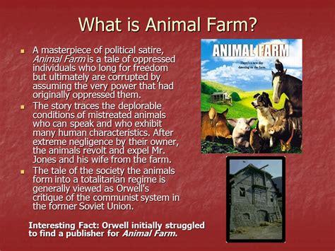 Cornerstone Plumbing Guelph by Animal Farm Novel Notes Ppt Animal Farm Novel Background