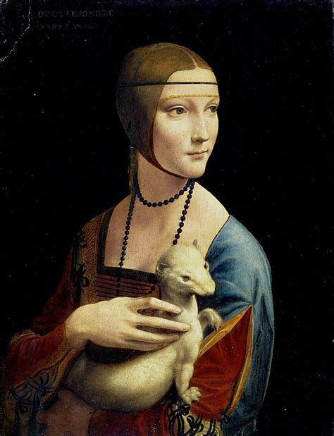 Leonardo Da Vinci 3488 by File The With An Ermine Jpg Wikimedia Commons