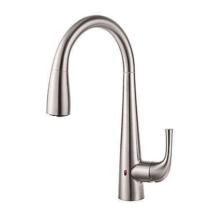 cinaton k2002 touch free kitchen faucet with pull out spray stainless steel alea touch free pull down kitchen faucet