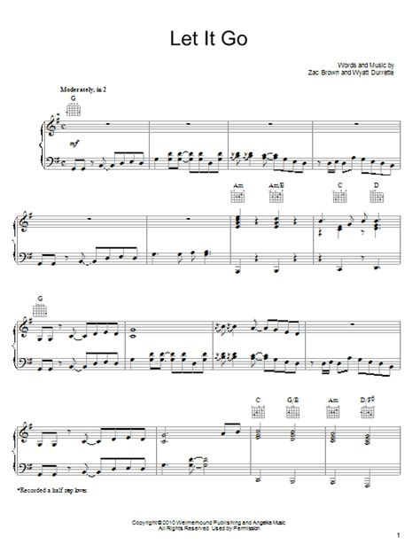 go song let it go sheet music direct