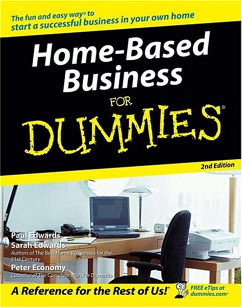home based business for dummies media ebusiness