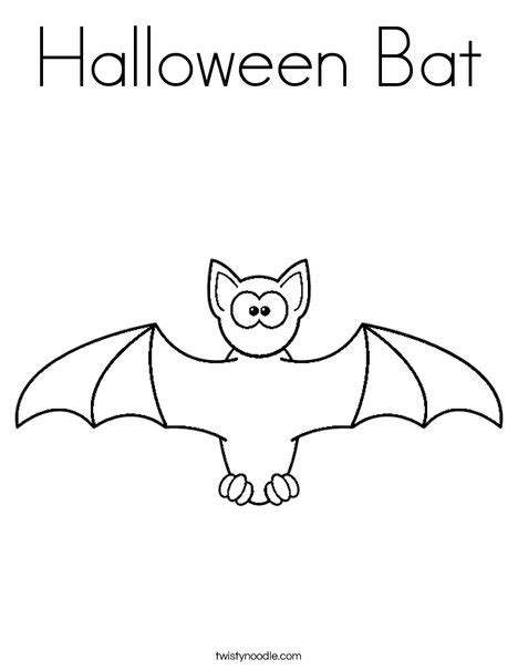 bats and pumpkins coloring pages halloween bat coloring page twisty noodle