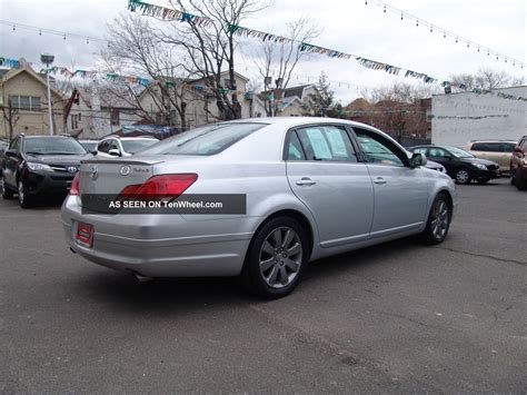2007 Toyota Avalon Touring Sedan 4   Door 3. 5l