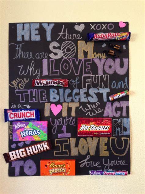 candy card for boyfriends birthday crafty crafty