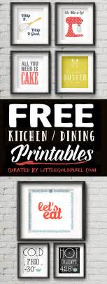free home decor 20 kitchen free printables wall art roundup little