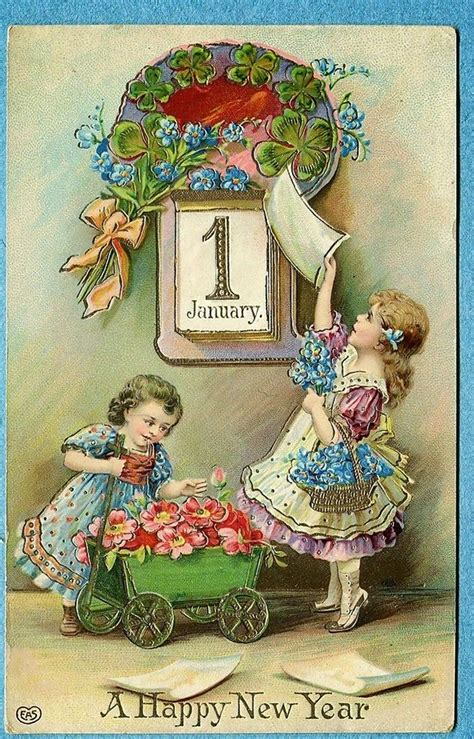 new year postcard and beautiful vintage new year s postcards vintage