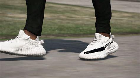 Sepatu Nike Jalan yeezy x white gta5 mods