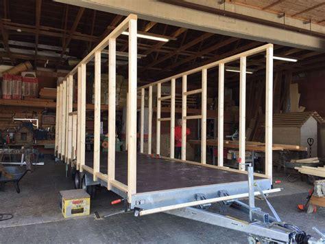 zirkuswagen holzaufbau aufbau mit daemmung dach