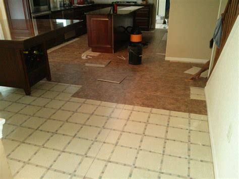 floor installation photos armstrong alterna tile