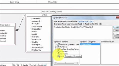 microsoft query tutorial excel 2010 how to create a crosstab query in excel 2010 ms access