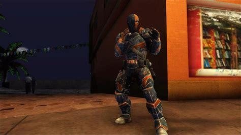 Modification Origins by Gta San Andreas Batman Arkham Origins Deathstroke Mod