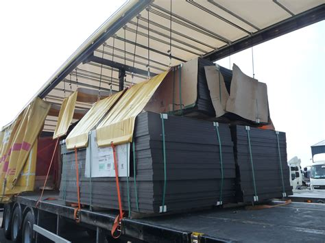 load security on curtain sided lorries what is vosa compliant load restraint www