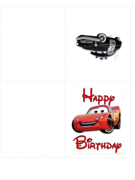 cars birthday invitation template