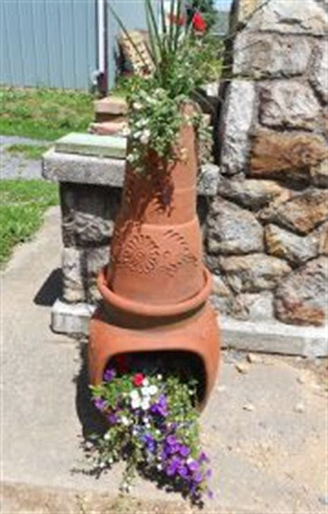 chiminea planter garden products mexico and planters on