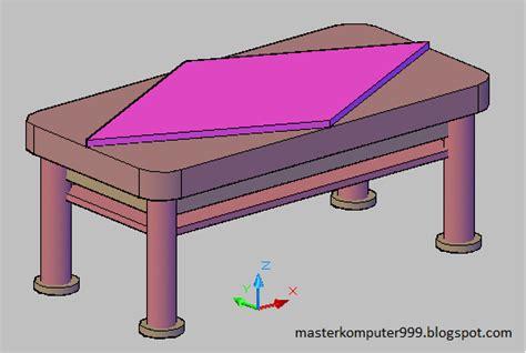 Meja Motherboard mendesign meja dengan autocad komputer